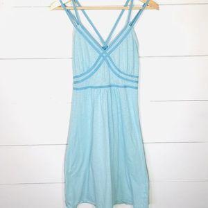 ATHLETA Avalon Strappy Athleisure Bra Top Dress M
